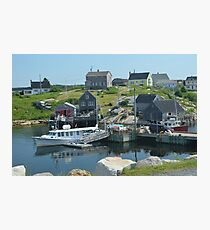 Peggy's Cove again Photographic Print