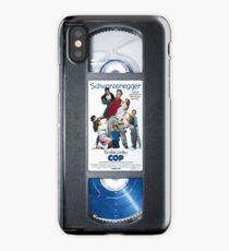 Kindergarten Cop vhs iphone-case iPhone Case