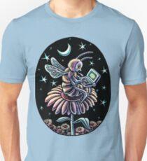 Bee Working at Night Unisex T-Shirt