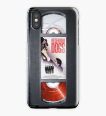 Reservoir Dogs vhs iphone-case iPhone Case