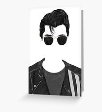 Alex Turner Greeting Card