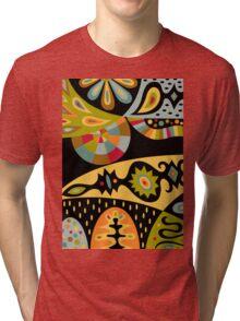 Bohemian black Tri-blend T-Shirt