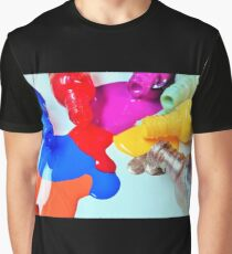 Color Spill Graphic T-Shirt