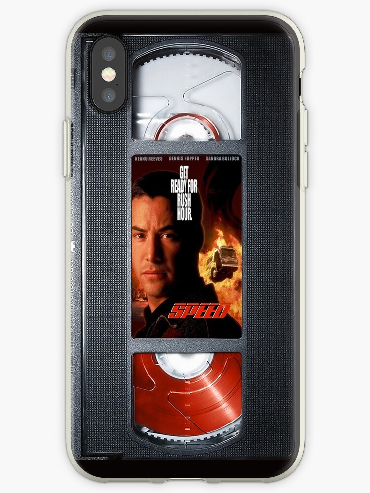 Speed vhs iphone-case by Abricotti