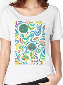 Cartwheel white Women's Relaxed Fit T-Shirt