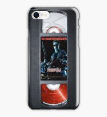 Terminator 2 vhs iphone-case iPhone Case/Skin