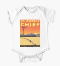 Vintage poster - Southwest Chief One Piece - Short Sleeve