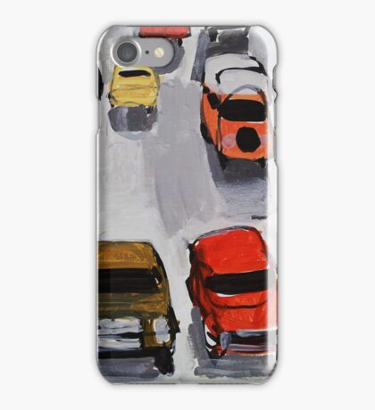 Rainy parking iPhone Case/Skin