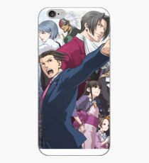 Ace Attorney Poster iPhone Case