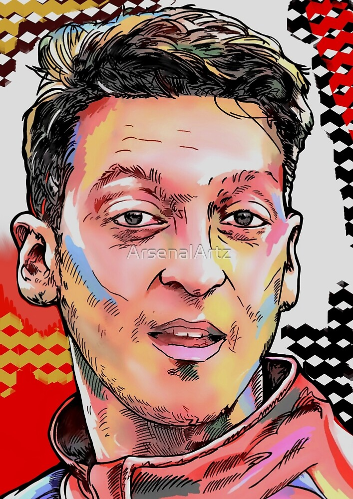 Mesut Ozil - Deutschland by ArsenalArtz