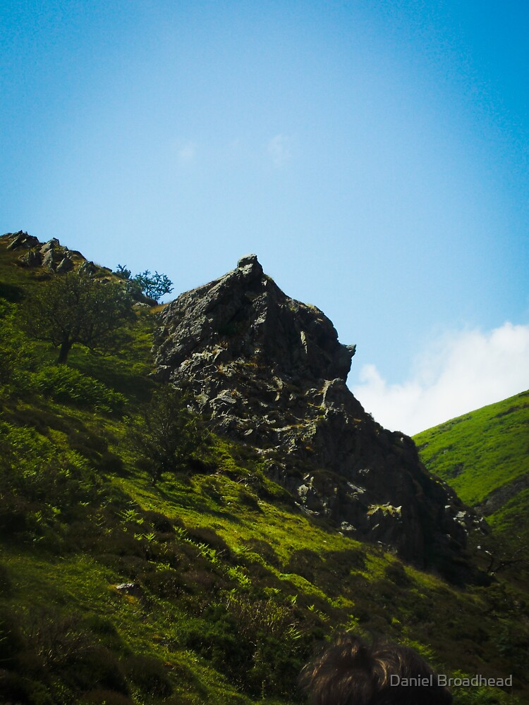Overhang Rock by Daniel Broadhead