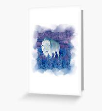 The Great White Buffalo Grußkarte