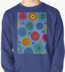 Flowers of Desire blue Pullover