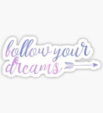 Wall Decal Quote Follow Your Dreams by WallStickersDecals ...