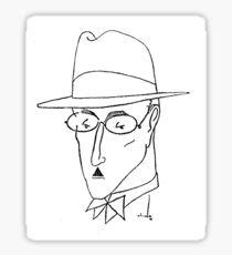 Fernando Pessoa Sticker