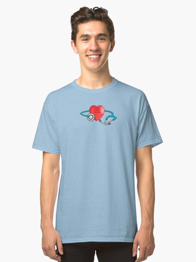 TSP Stethoscope Classic T-Shirt Front