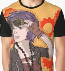 Steampunk Ellie Graphic T-Shirt