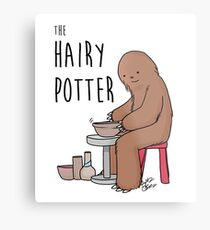 The Hairy Potter Metal Print
