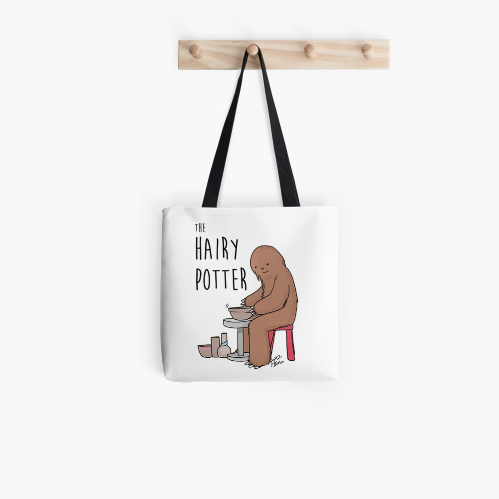 The Hairy Potter Tote Bag