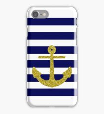 Gold Anchor iPhone Case/Skin