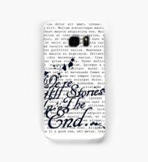We're All Stories Samsung Galaxy Case/Skin