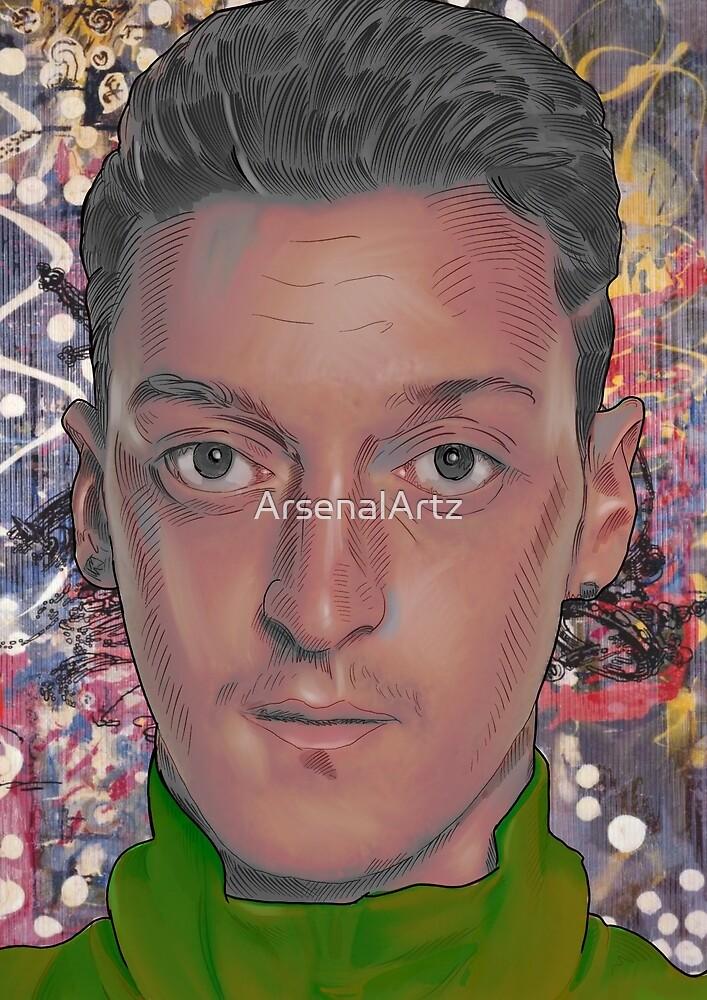 Mesut Ozil - Die Mannschaft by ArsenalArtz