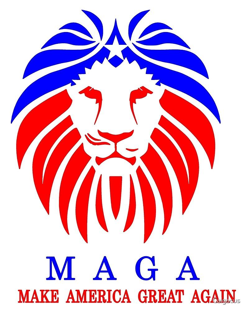 MAGA - LION by Calgacus