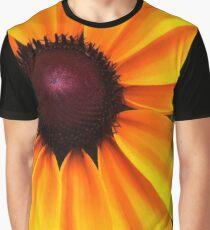 Yellow and Purple Graphic T-Shirt