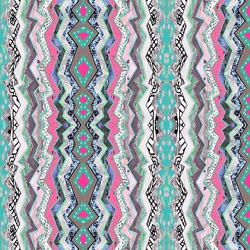 Love YOU Aztec Pattern by homedeco