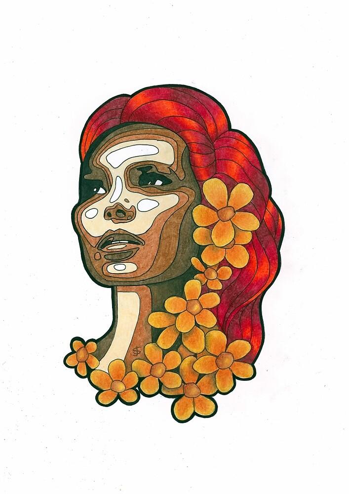 Femme Botanica - Hope by janestradwick