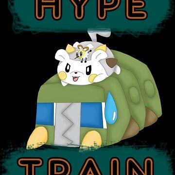 Pokemon hype train by coco4892
