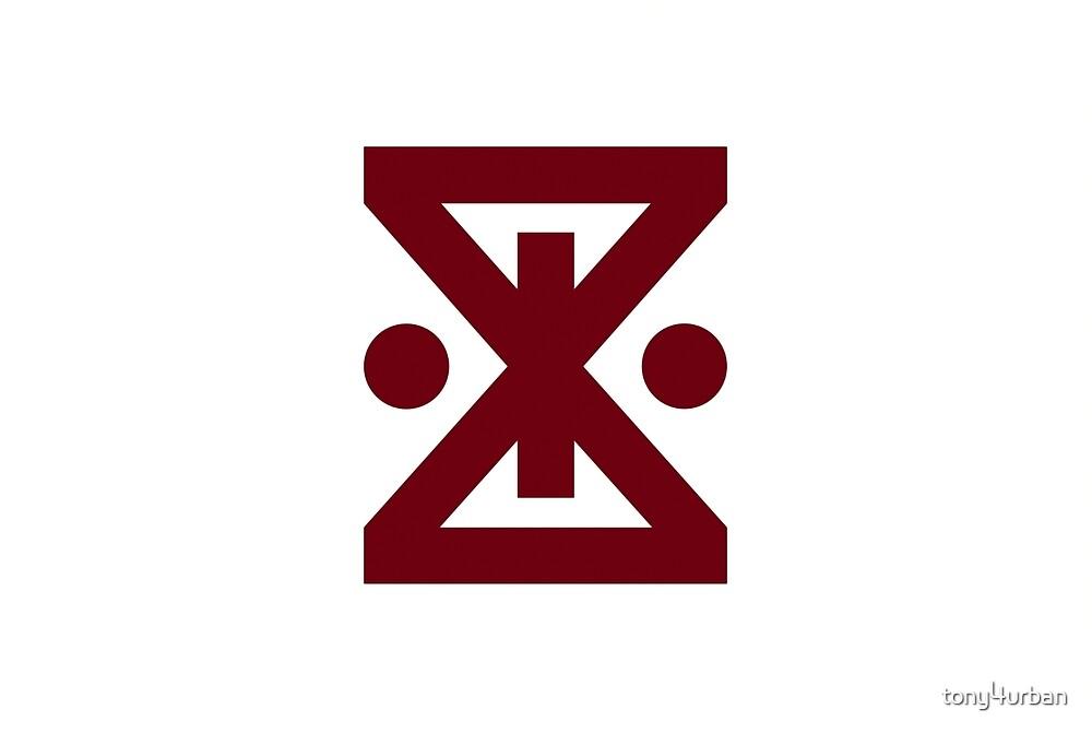 Amagasaki city flag by tony4urban