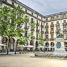Independence Square in Girona (Catalonia) by Marc Garrido Clotet