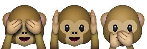 See No Evil, Hear No Evil, Say No Evil Monkeys by Brogy2323