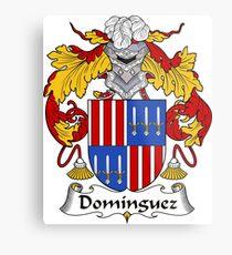 Dominguez Coat of Arms/ Dominguez Family Crest Metal Print