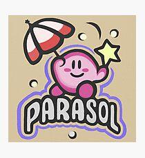 Kirby Parasol Photographic Print