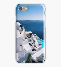 Greek islands iPhone Case/Skin