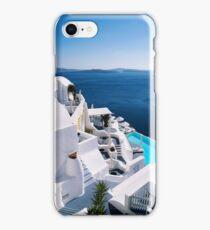 Greek islands iPhone Case/Skin