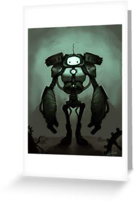 Sad Robot by Lily Ondine