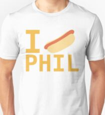 I Love Phil Unisex T-Shirt