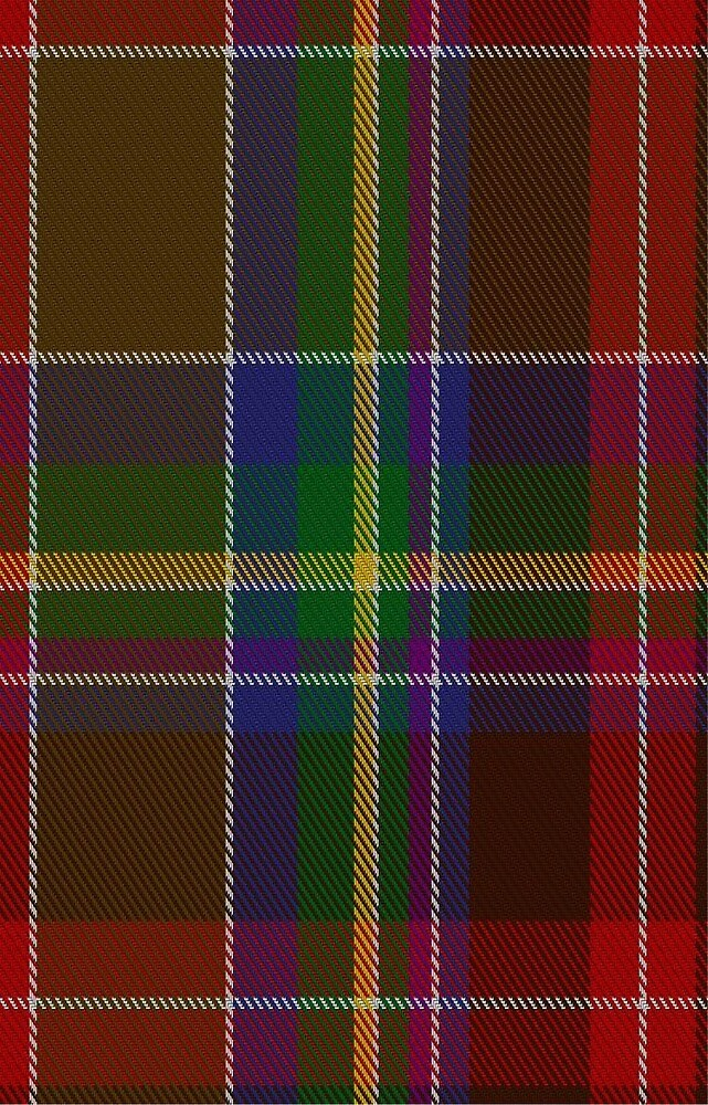 01307 Baltimore Charles Fashion Tartan by Detnecs2013