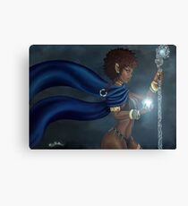 Dark Elf Canvas Print