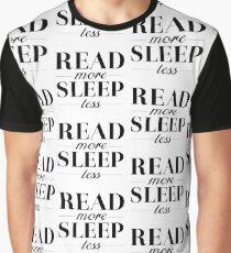 Read/Sleep Graphic T-Shirt