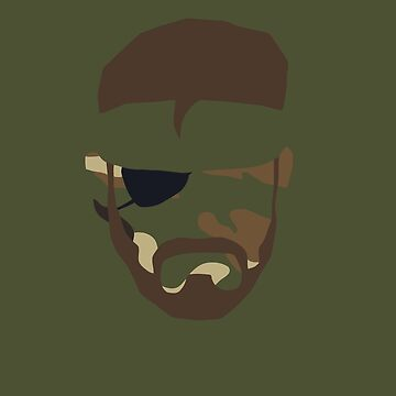Metal Gear Solid 3 - Naked Snake by fhespinosa