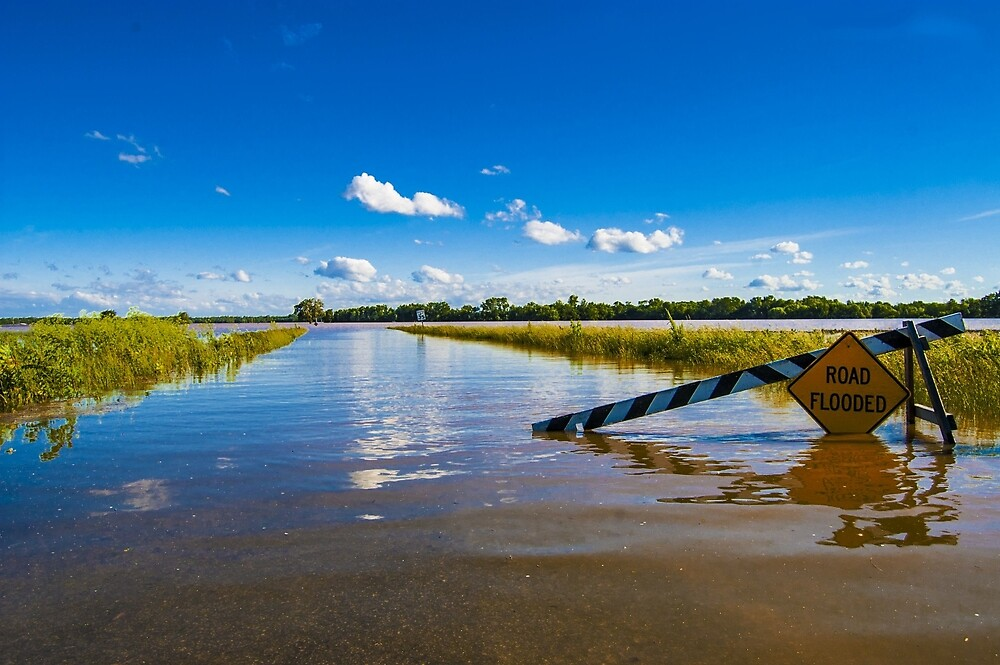 Flooded Gravens  by cwoodphotos