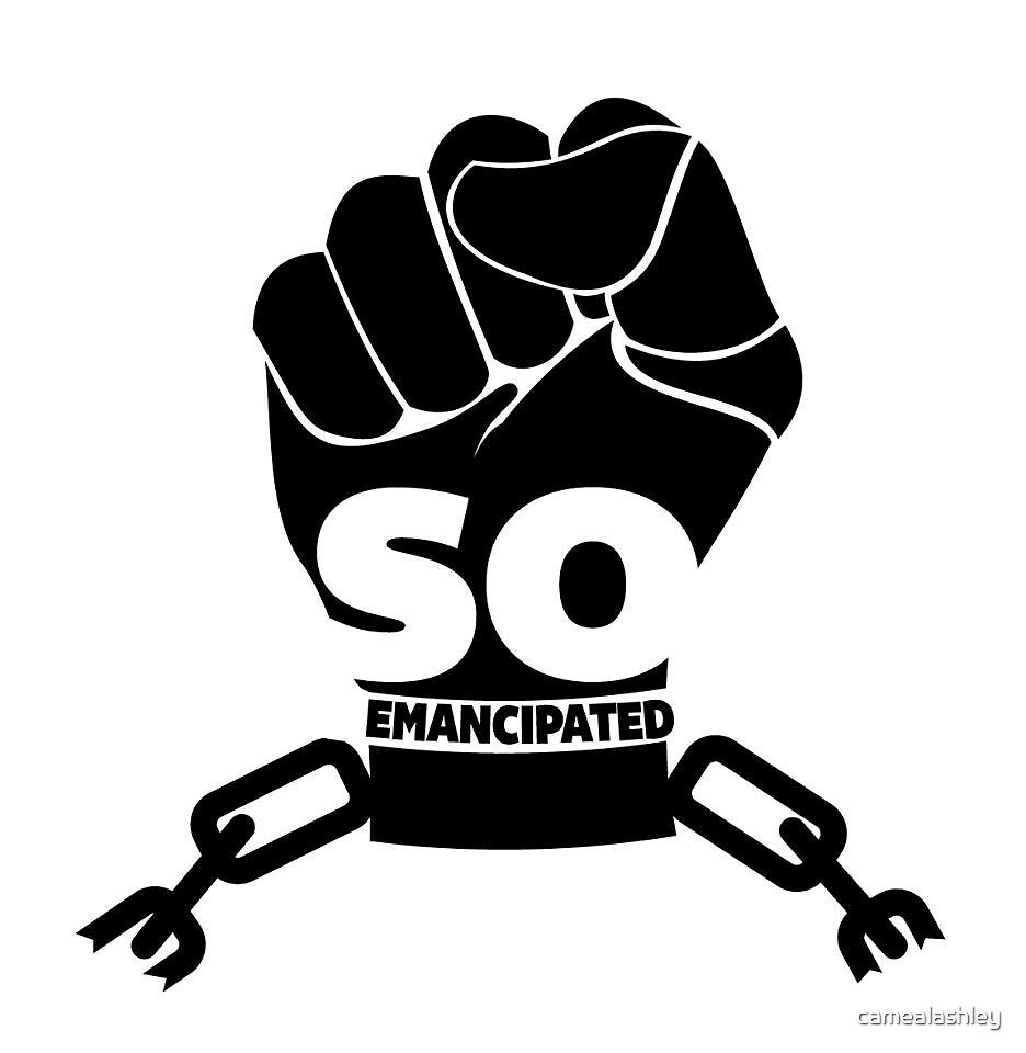 So Emancipated Logo by camealashley
