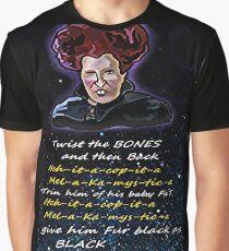 Hocus pocus Twist the bones Graphic T-Shirt
