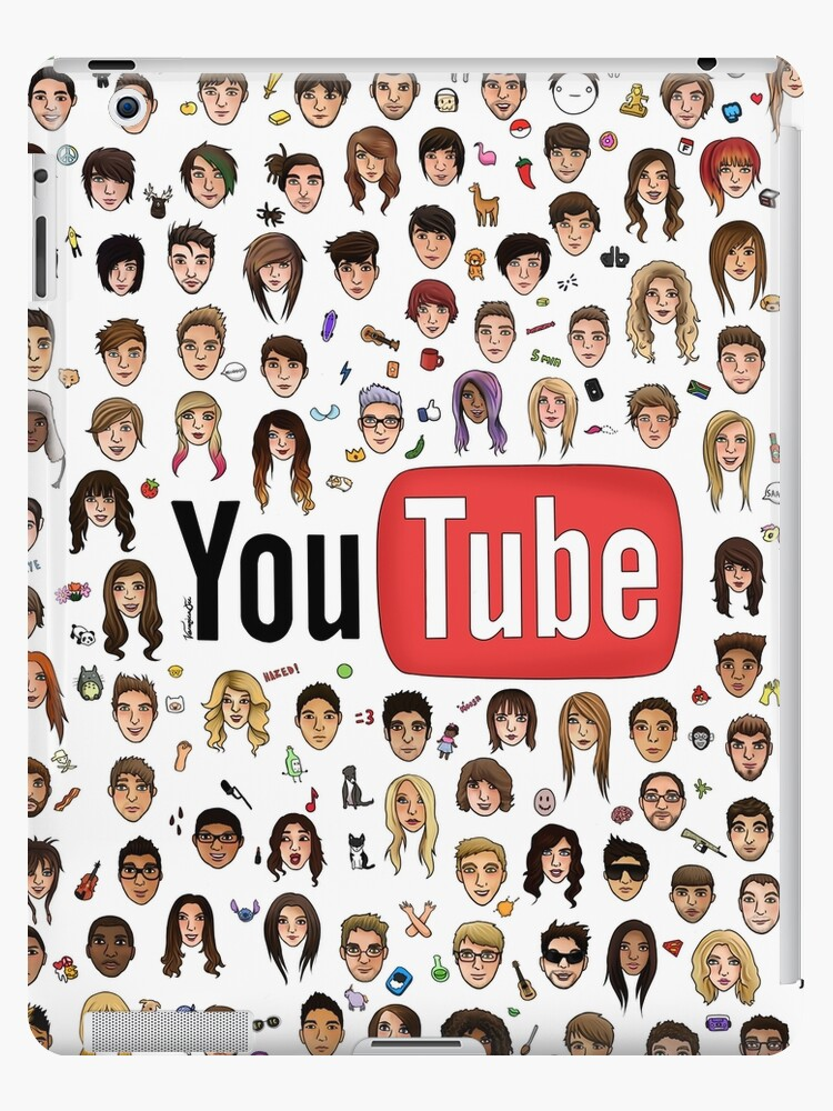 YouTube Logo w/ Faces by whatemma