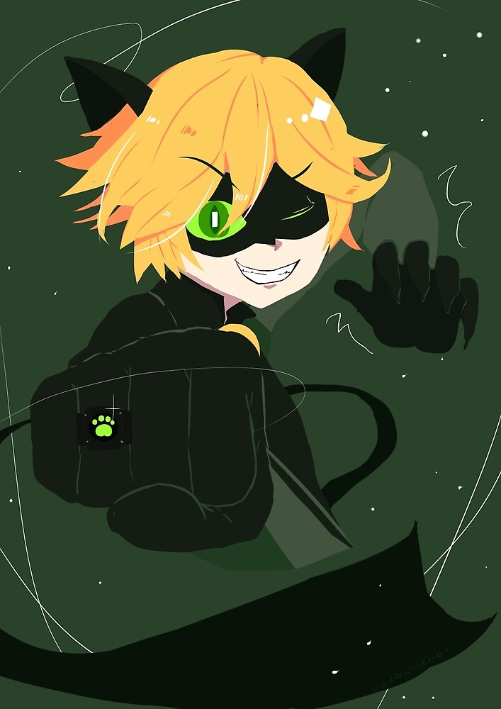 Chat Noir by Aya Chii
