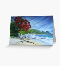 Pohutukawa, NZ Greeting Card